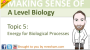 New A Level Biology Topics